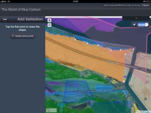 iPad screen with BC habitats_LR
