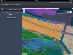 iPad screen with BC habitats_LR