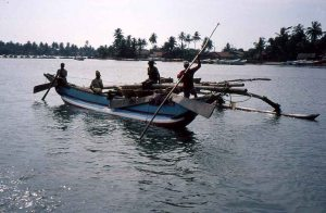 Fishing boat, Mada Galla, Sri Lanka_1996