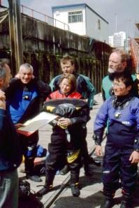 RI talking to Seasearch diversLR